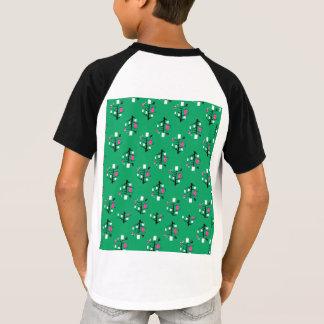 abstract design on kids tshirt