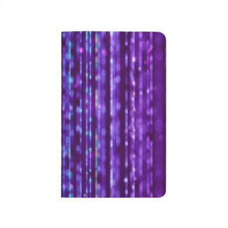 Abstract Design Purple And Silver Spectrum Journal