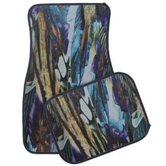 Abstract Design Set of 4 Car Mats