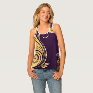 Abstract Design Singlet