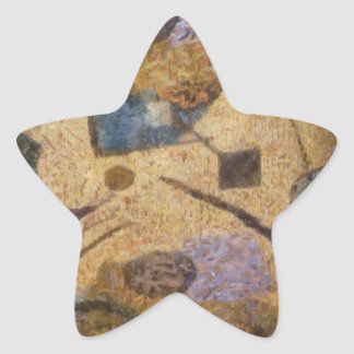 Abstract  design star stickers