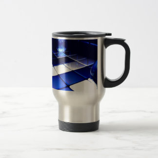 Abstract Design Travel Mug