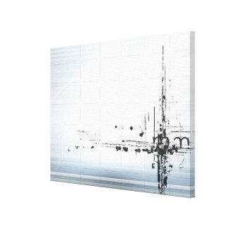 Abstract designs on grid canvas prints