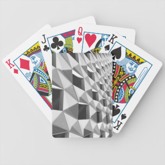 Abstract Diagonal Pattern Design Bicycle Playing Cards