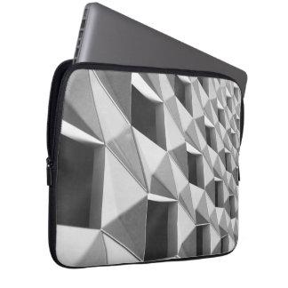 Abstract Diagonal Pattern Design Laptop Sleeve