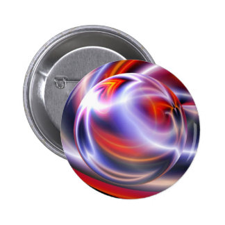 Abstract Digital Painting 6 Cm Round Badge