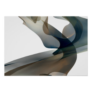 Abstract Digitally Rendered Fractal Wall Art