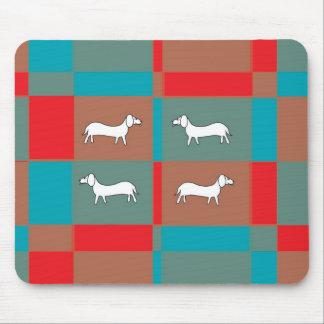 Abstract Dog Design Mousepad