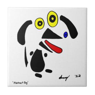Abstract Dog Tile