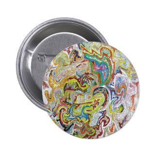 Abstract Doodle Pin