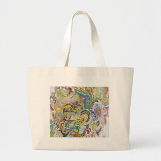Abstract Doodle Bag