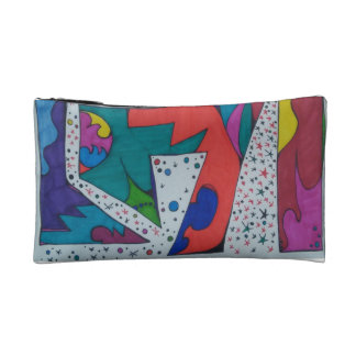 Abstract Doodle Cosmetic Bag