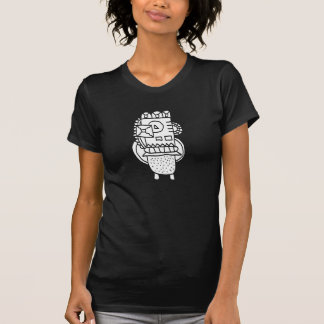 Abstract Doodle Crew Neck T-Shirt