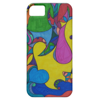Abstract Doodle iphone 5/5s Barely There Case Case For The iPhone 5