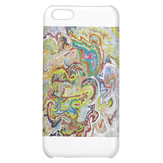 Abstract Doodle iPhone 5C Covers