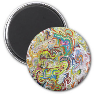 Abstract Doodle Refrigerator Magnets