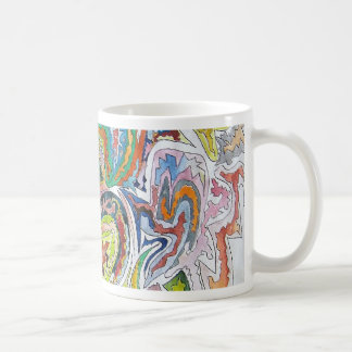 Abstract Doodle Mugs
