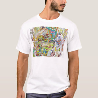 Abstract Doodle T-Shirt