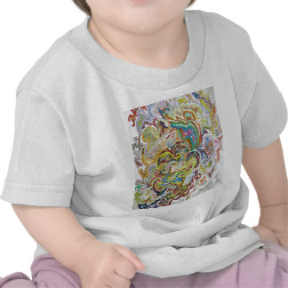 Abstract Doodle T-shirts