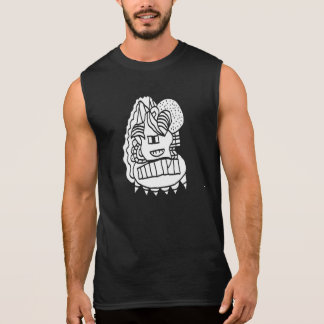 Abstract Doodle Ultra Cotton Sleeveless T-Shirt