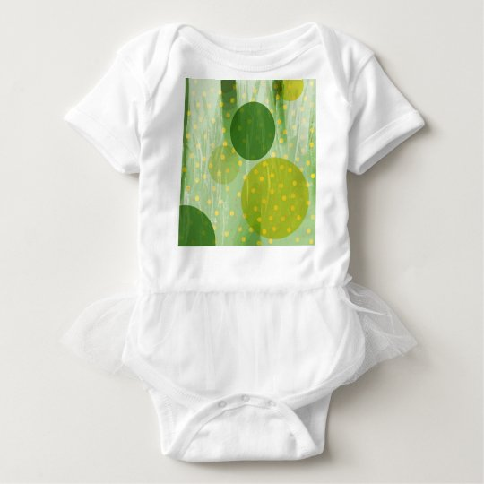 Abstract Dots Design Baby Bodysuit