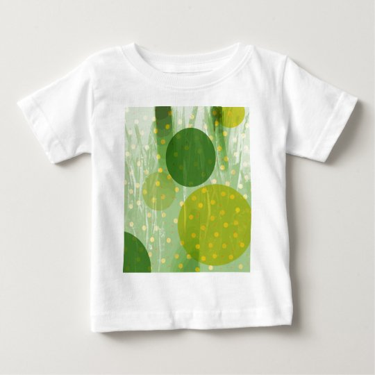 Abstract Dots Design Baby T-Shirt