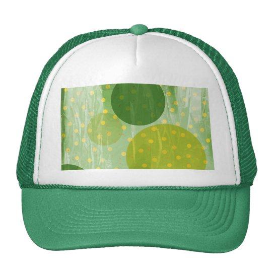 Abstract Dots Design Cap