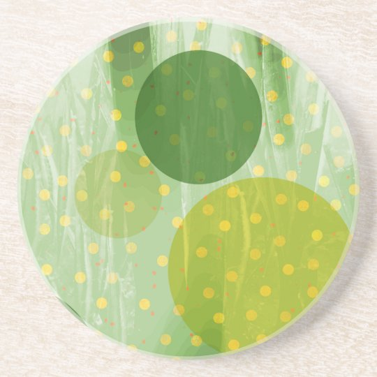 Abstract Dots Design Coaster
