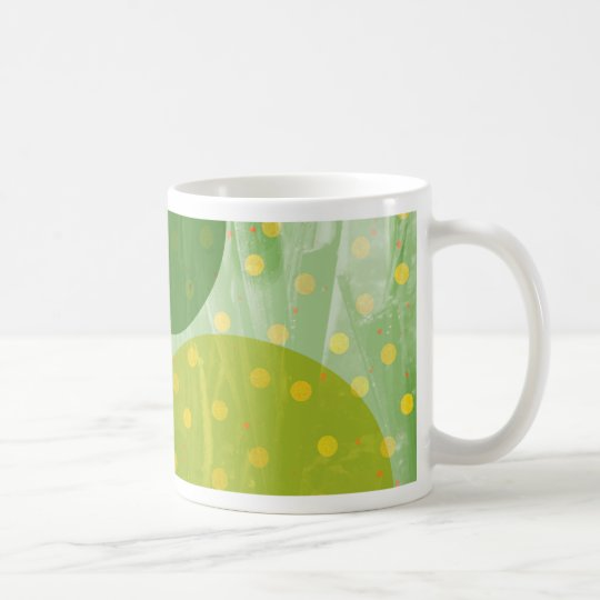 Abstract Dots Design Coffee Mug