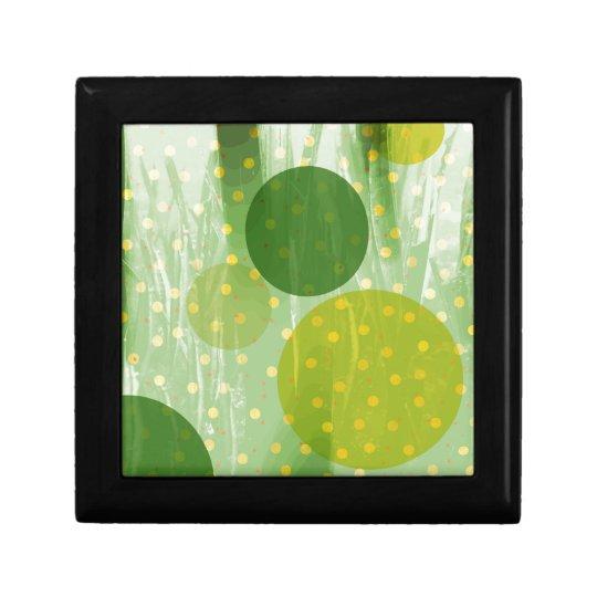 Abstract Dots Design Gift Box
