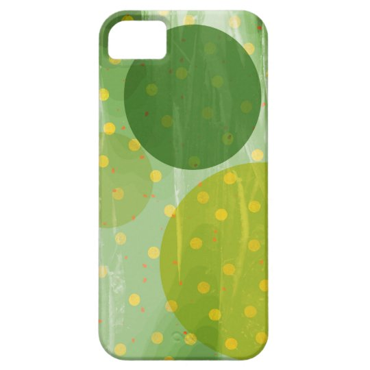 Abstract Dots Design iPhone 5 Cover