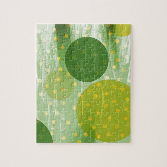 Abstract Dots Design Jigsaw Puzzle