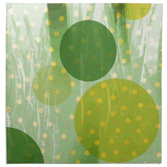 Abstract Dots Design Napkin