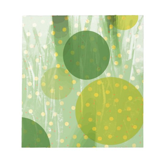 Abstract Dots Design Notepad