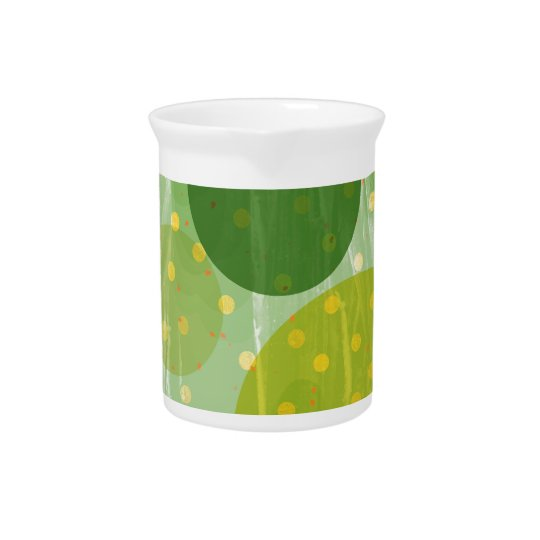 Abstract Dots Design Pitcher