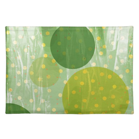 Abstract Dots Design Placemat