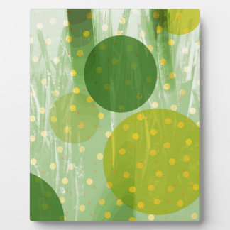 Abstract Dots Design Plaque