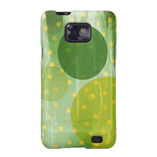 Abstract Dots Design Samsung Galaxy S2 Cases