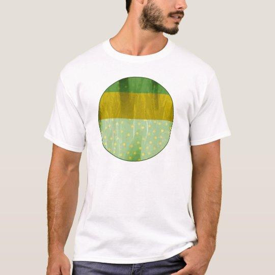 Abstract Dots Design T-Shirt