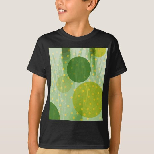 Abstract Dots Design T-Shirt