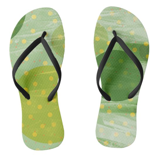 Abstract Dots Design Thongs