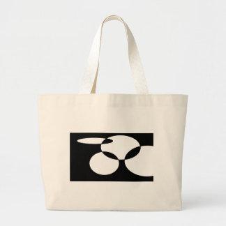 Abstract Dots Jumbo Tote Bag