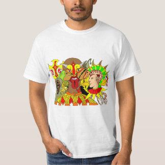 Abstract drawing free hand T-Shirt