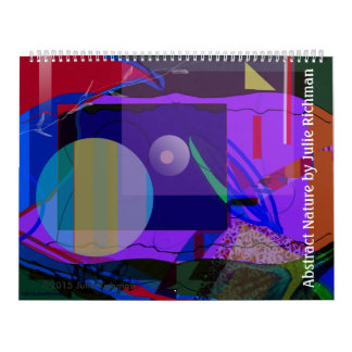 Abstract Drawings Calendar