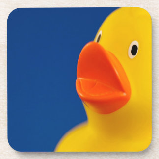 Abstract Ducky Duck Beverage Coaster