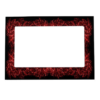 abstract dynamic galaxy red texture. magnetic frame