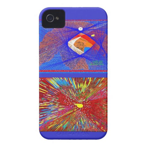 Abstract Eagle Blackberry Bold Covers