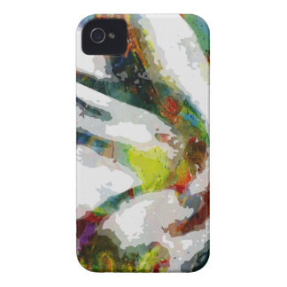 Abstract Ear Watercolour Print iPhone 4 Case-Mate Case