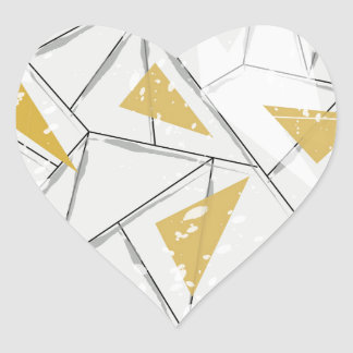 Abstract: Early Fall Heart Sticker