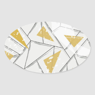 Abstract: Early Fall Oval Sticker